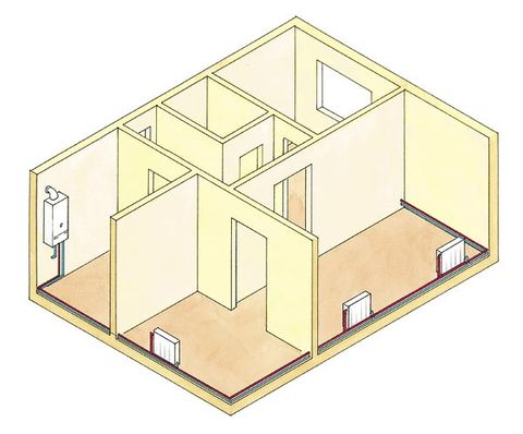 Line, House, Home, Parallel, Plan, Rectangle, Diagram, Schematic, Illustration, Drawing,
