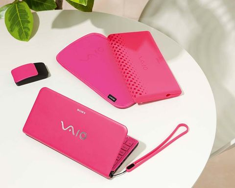 Pink, Carmine, Magenta, Rectangle, Material property, Mobile phone accessories, Modem, Plastic, Kitchen utensil,