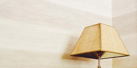 Wood, Lampshade, Wall, Lighting accessory, Lamp, Tints and shades, Pillow, Throw pillow, Home accessories, Beige,