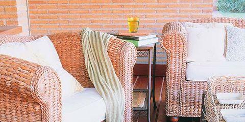 Floor, Wood, Flooring, Textile, Hardwood, Furniture, Wood flooring, Linens, Tablecloth, Orange,