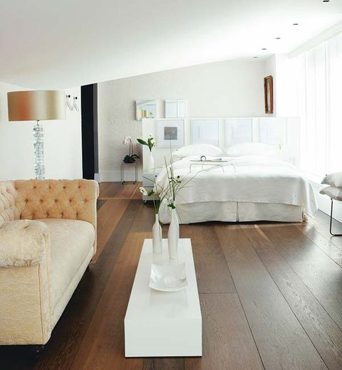 Room, Interior design, Floor, Furniture, Wall, Flooring, White, Home, Couch, Living room,