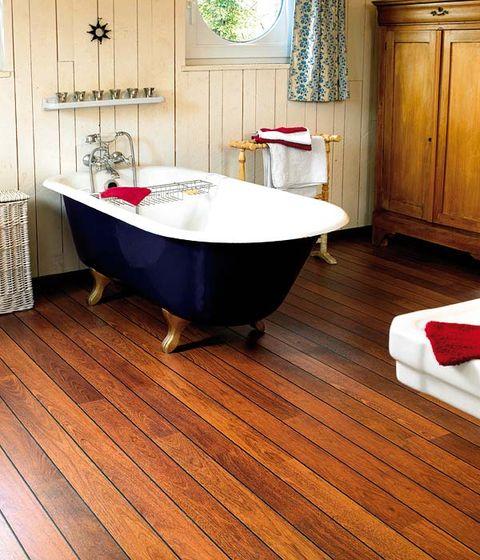Wood, Plumbing fixture, Floor, Flooring, Room, Interior design, Property, Hardwood, Tap, Bathroom sink,