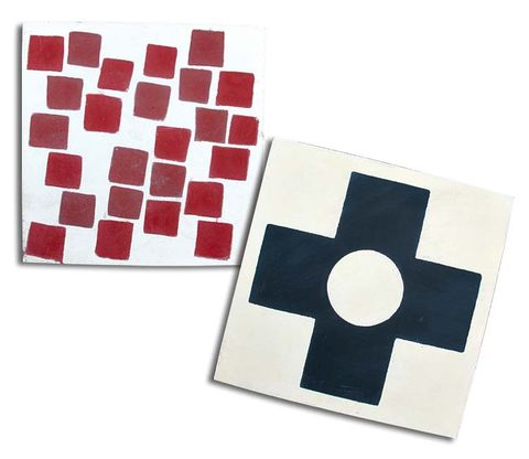 Carmine, Pattern, Rectangle, Square, Circle, Coquelicot, Paper product,