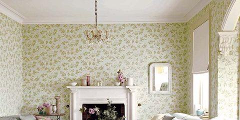 Room, Interior design, Green, Wood, Floor, Wall, Home, Furniture, Flooring, Living room,