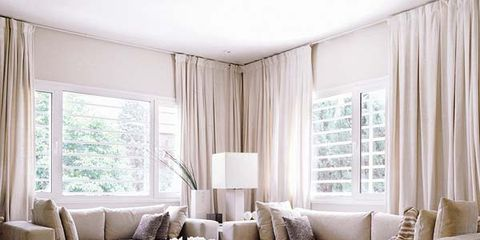 Interior design, Room, Living room, Floor, Furniture, Table, Home, Couch, Window covering, Wall,