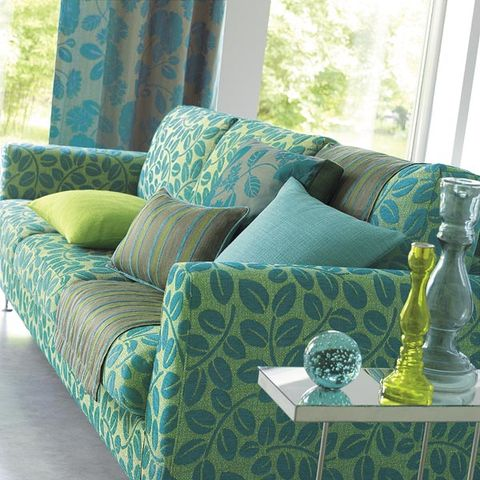 Green, Blue, Interior design, Room, Teal, Turquoise, Living room, Aqua, Couch, Interior design,