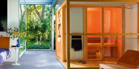 Interior design, Room, Floor, Ceiling, Majorelle blue, Interior design, Rectangle, Flowerpot, Plywood, Wood stain,