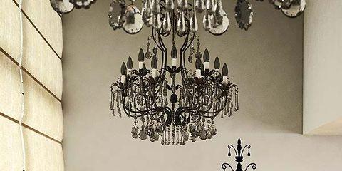 Interior design, Room, Wall, Floor, Flooring, Light fixture, Chandelier, Interior design, Lighting accessory, Hardwood,