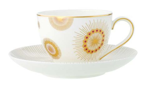 Cup, Serveware, Yellow, Drinkware, Dishware, Porcelain, Teacup, Ceramic, Tableware, Coffee cup,