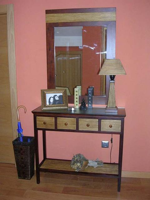 Wood, Room, Drawer, Interior design, Hardwood, Wall, Table, Cabinetry, Wood stain, Interior design,