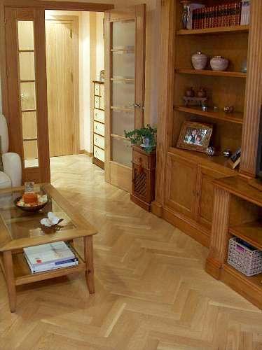 Wood, Floor, Hardwood, Flooring, Room, Wood stain, Interior design, Shelf, Door, Fixture,