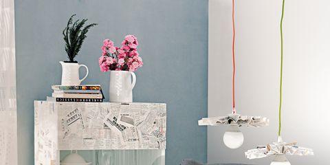 Blue, Room, Interior design, Textile, Wall, White, Floor, Home, Interior design, Flooring,
