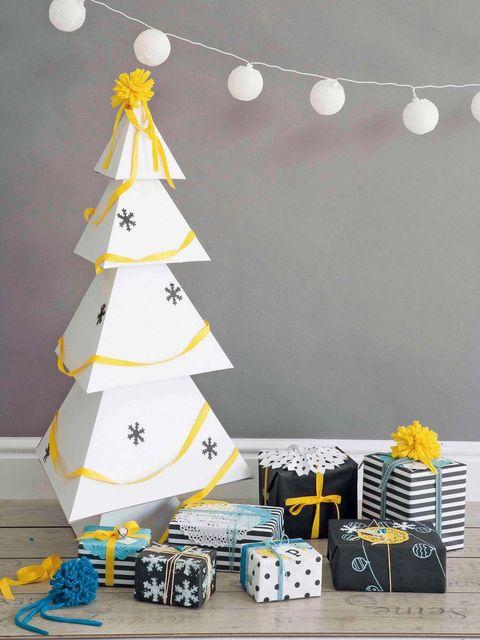 Space, Cone, Design, Christmas tree, Wall sticker, Ornament,