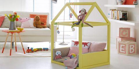 Una casita para bebés