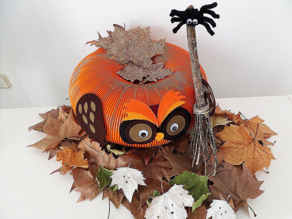 Una Calabaza Para Halloween