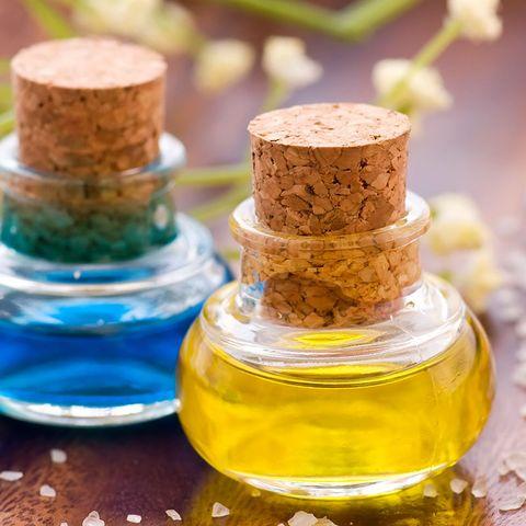 Fluid, Liquid, Product, Yellow, Bottle, Cork, Amber, Oil, Glass bottle, Cylinder,