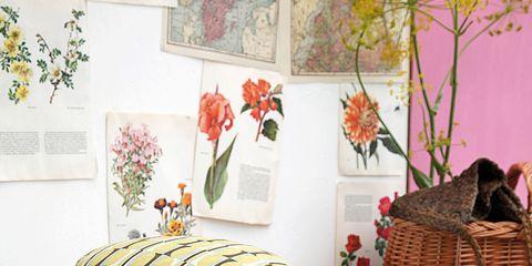 Home accessories, Wicker, Basket, Creative arts, Floral design, Natural material, Flower Arranging, Storage basket,