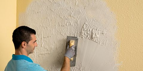 Wall, Elbow, Artist, Paint, Plaster, Painter, Building material,