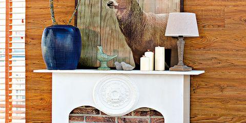 Wall, Brick, Galliformes, Bird, Hardwood, Beak, Candle holder, Fowl, Phasianidae, Candle,