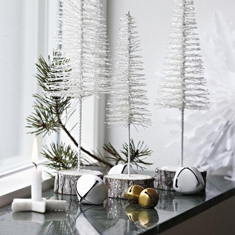 Serveware, Flowerpot, Interior design, Still life photography, Vase, Twig, Houseplant, Pine family, Conifer, Centrepiece,