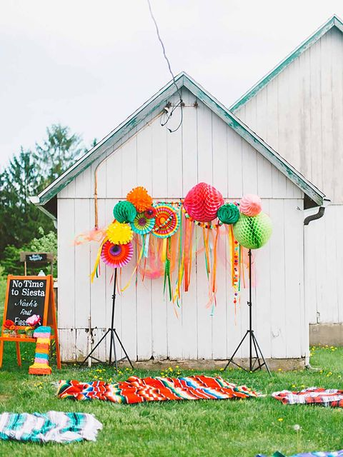 Yard, House, Architecture, Party supply, Balloon, Grass, Tree, Home, Wildflower, Wheel,