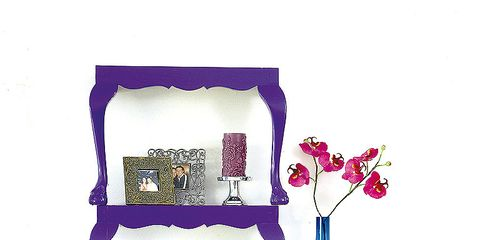 Blue, Purple, Violet, Magenta, Lavender, Shelving, Majorelle blue, Shelf, Vase, Paint,