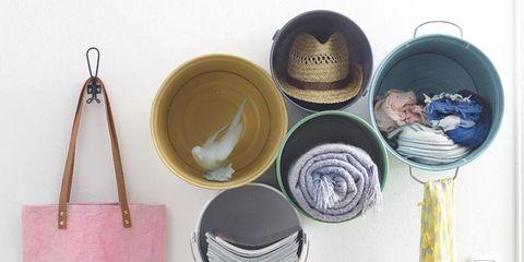 Yellow, Natural material, Paint, Lavender, Shoulder bag, Circle, Collection, Craft, Creative arts, Gemstone,