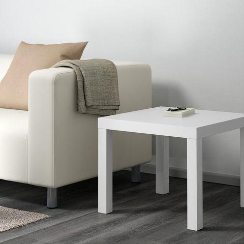 10 formas de transformar una mesa lack de ikea - Ikea mesa lack blanca ...