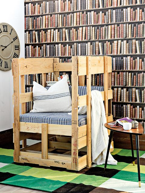 Wood, Room, Shelf, Shelving, Furniture, Publication, Linens, Wall clock, Bookcase, Book,
