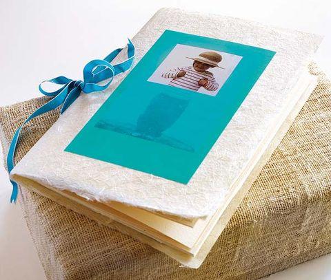 Teal, Aqua, Turquoise, Ribbon, Publication, Paper product, Linens, Book, Present,