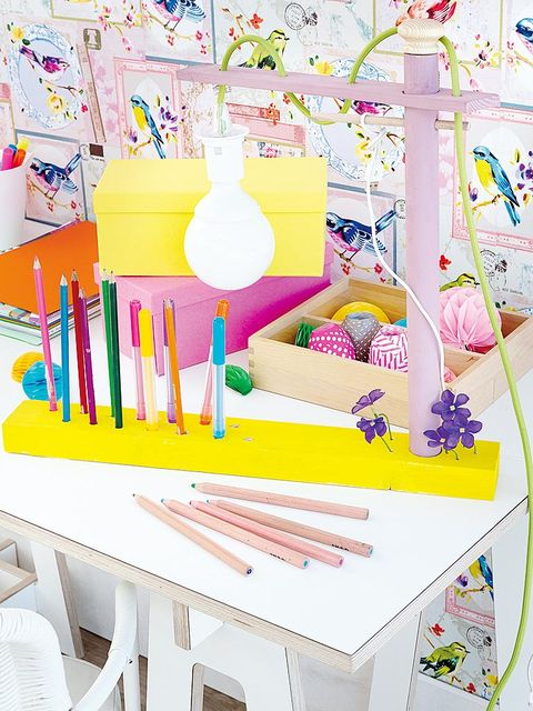 Stationery, Pink, Paint, Writing implement, Paper product, Office supplies, Peach, Creative arts, Brush, Paper,