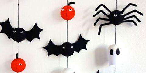 Las Manualidades Mas Simpaticas Para Un Halloween Creativo - Manualidades-de-halloween-para-decorar