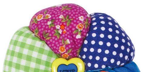 Blue, Pattern, Polka dot, Costume accessory, Violet, Design, Circle, Pattern,