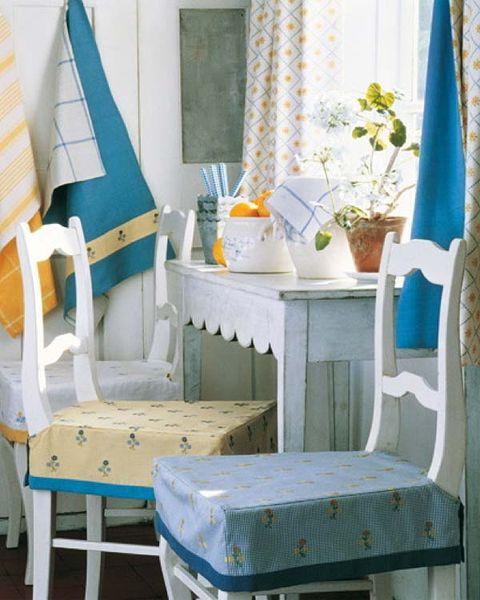 Blue, Room, Textile, Interior design, Furniture, Turquoise, Teal, Azure, Window covering, Aqua,