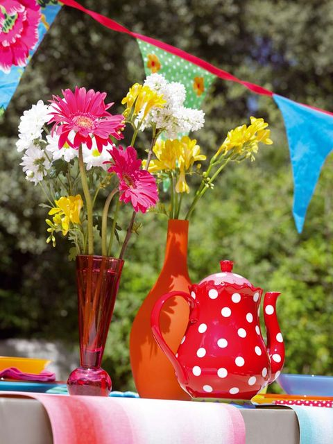 Flower, Spring, Plant, Flowerpot, Table, Summer, Party, Wildflower, Cut flowers, Vase,