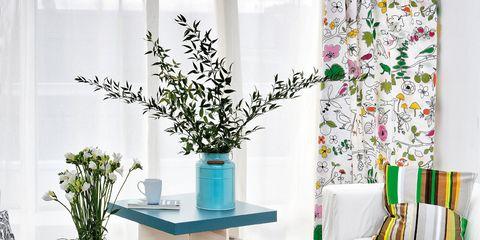 Blue, Green, Interior design, Room, Turquoise, Teal, Aqua, Furniture, Table, Interior design,