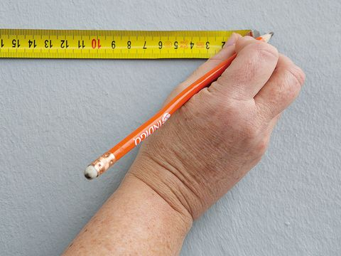 Finger, Line, Stationery, Colorfulness, Pencil, Peach, Nail, Measuring instrument, Writing implement, Number,