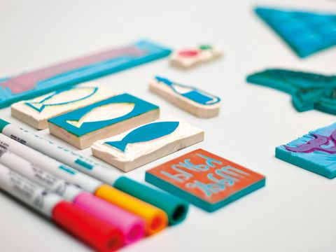 Colorfulness, Teal, Turquoise, Stationery, Aqua, Electric blue, Collection,
