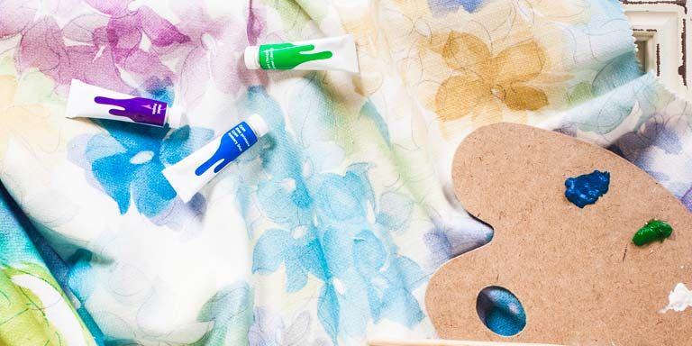 Decora tu ropa de hogar pintar sobre tela - Dibujos para pintar en tela infantiles ...