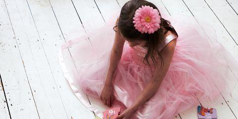 Pink, Art, Foot, Illustration, Headpiece, Hair accessory, Creative arts,