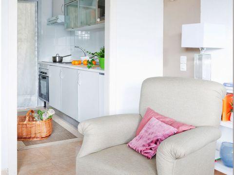 piso pequeño con cocina abierta