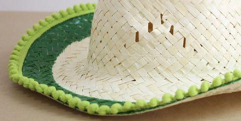 Un sombrero de playa personalizado
