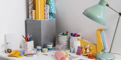 Furniture, Table, Teal, Turquoise, Aqua, Tablecloth, Home accessories, Linens, Interior design, Lamp,