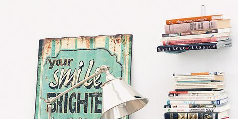Room, Lampshade, Lamp, Teal, Publication, Home accessories, Book, Shelf, Shelving, Lighting accessory,