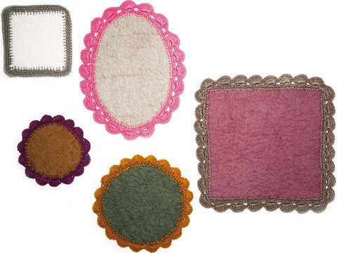 Pattern, Pink, Purple, Magenta, Rectangle, Violet, Circle, Square, Home accessories,
