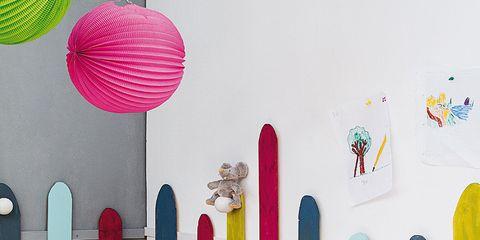 Room, Textile, Interior design, Pink, Wall, Magenta, Purple, Violet, Interior design, Home accessories,