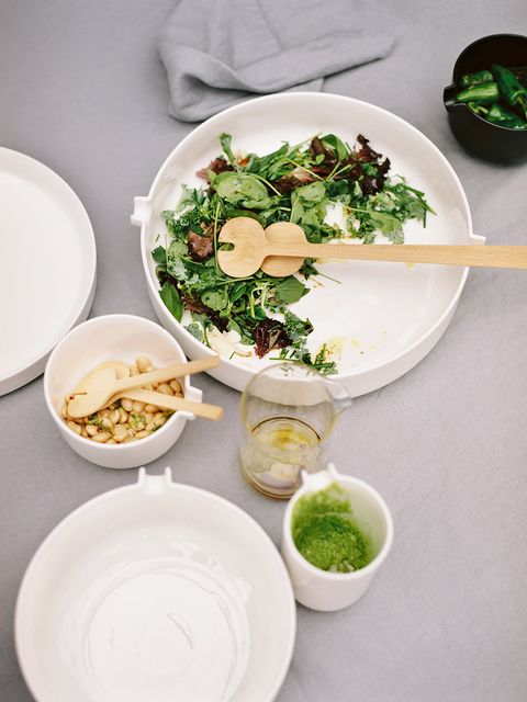 Food, Dishware, Green, Cuisine, Serveware, Ingredient, Dish, Tableware, Porcelain, Bowl,