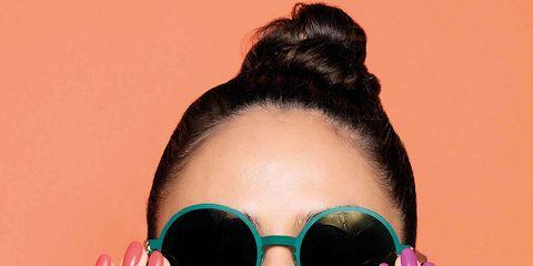 Eyewear, Sunglasses, Glasses, Face, Hair, Cool, Skin, Eyebrow, Beauty, Lip,