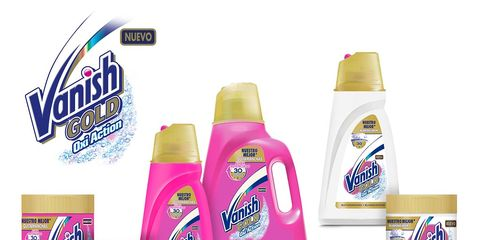 Liquid, Pink, Purple, Logo, Magenta, Violet, Packaging and labeling, Household supply, Brand, Label,