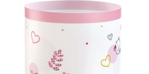 Product, Magenta, Pink, Pattern, Peach, Cylinder, Circle, Creative arts, Cake stand,